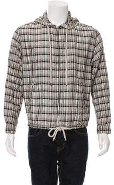 Louis Vuitton Lightweight Plaid Jacket