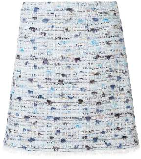 Blumarine gonna bouclè short skirt