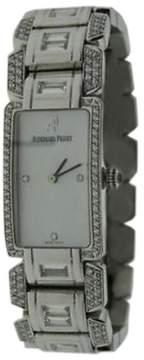 Audemars Piguet 18K White Gold 7.55ct Diamond & Mother of Pearl 27mm Womens Watch