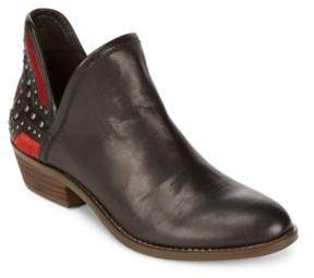 Lucky Brand Kambry Studded Leather Ankle Boots
