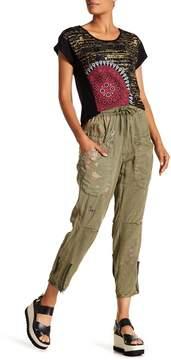 Desigual Zippered Pant
