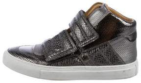 MM6 MAISON MARGIELA Metallic Embossed Sneakers