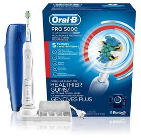 Oral-B Pro 5000 SmartSeries Power Rechargeable Electric Toothbrush with Bluetooth Connectivity - PG-6952