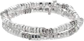 Dana Buchman Beaded Double Row Stretch Bracelet
