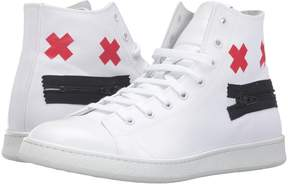 Marc Jacobs Canvas Zip Face High Top