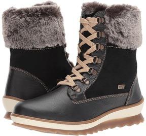Rieker R4375 Women's Lace-up Boots