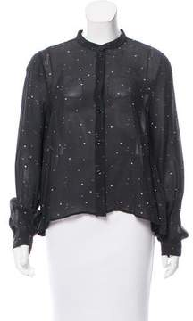 Boy By Band Of Outsiders Printed Button-Up Top