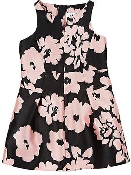 Milly FLORAL TWILL SLEEVELESS DRESS