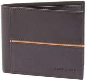 Perry Ellis Front Binding Passbook Wallet