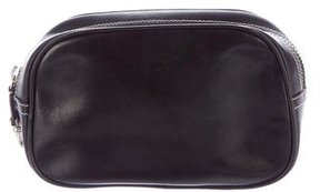 Marc Jacobs Leather Cosmetic Bag