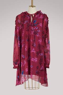 Balenciaga Short-sleeved short dress