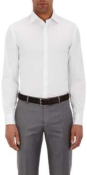Giorgio Armani Men's Solid Twill Shirt