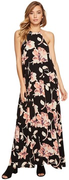 Brigitte Bailey Capri High Neck Spaghetti Strap Maxi Dress Women's Dress