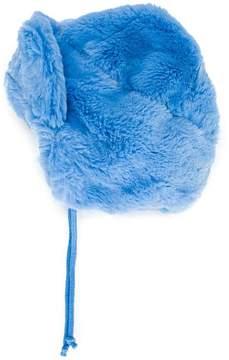 Mini Rodini faux fur baby hat