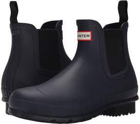 Hunter Original Dark Sole Chelsea Boots Men's Rain Boots