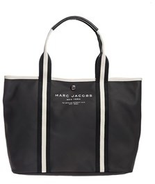 Marc Jacobs Women's Black Leather Tote. - BLACK - STYLE