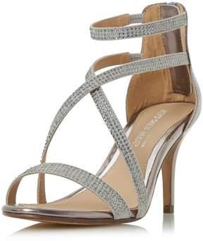 Head Over Heels *Head Over Heels Pewter Miley High Heel Sandals