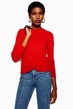 Twist Top Red – Topshop