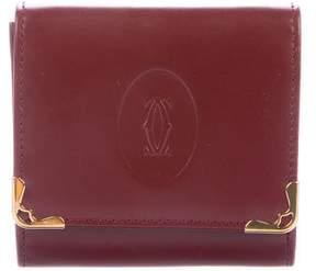 Cartier Smooth Leather Logo Coin Purse