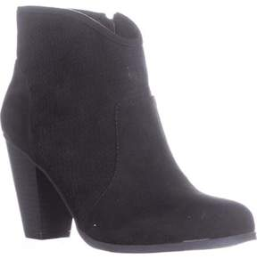Style&Co. Style & Co. Aria Western Ankle Boots, Black, 8.5 Us, Black.
