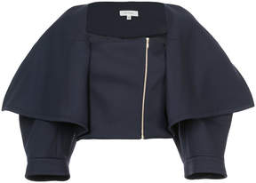 DELPOZO cropped jacket with exaggerated lapels