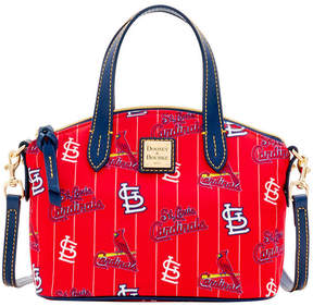 Dooney & Bourke St. Louis Cardinals Nylon Mini Crossbody Satchel - RED/NAVY - STYLE