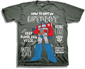 Freeze Transformers 'How to Spot an Autobot' Tee - Toddler