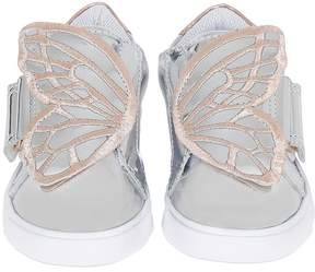 Sophia Webster Bibi Mini Metallic Leather Sneakers