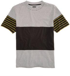 GUESS Men's Pattern-Blocked T-Shirt