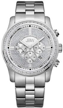 JBW Vanquish Multi-Function Dial Stainless Steel Diamond Men's Watch