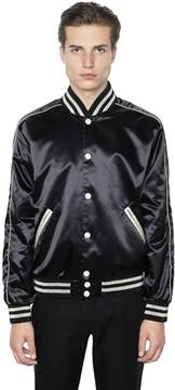 Calvin Klein Collection Techno Satin Bomber