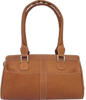 Piel Leather Double Handle Handbag 2438 (Women's)