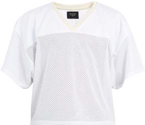 Fear Of God V-neck mesh-jersey T-shirt