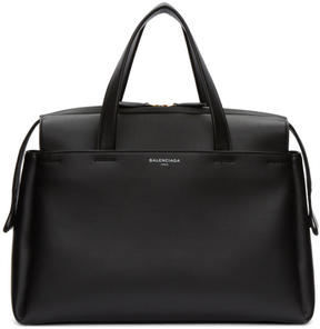 Balenciaga Black Medium Portfolio AJ Bag