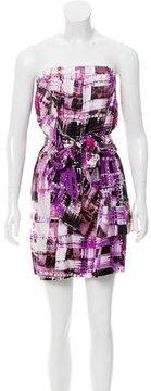 Ali Ro Printed Silk Dress w/ Tags