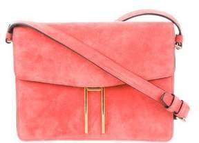 Hayward H Suede Crossbody Bag