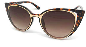 Fantas-Eyes Fantas Eyes Full Frame Cat Eye UV Protection Sunglasses-Womens