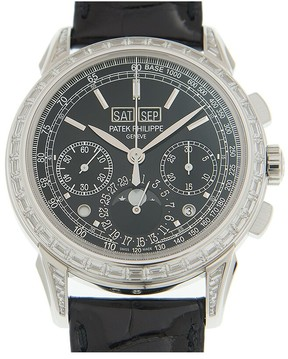 Patek Philippe Grand Complications Black Lacquered Dial Automatic Men's Watch