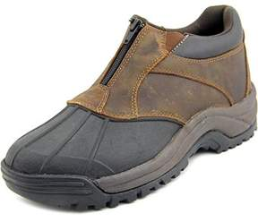 Propet Mens Fairbanksc Ankle Zip Suede Cap Toe Ankle Safety Boots.