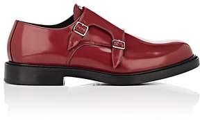 Calvin Klein Men's Leather Double-Monk-Strap Shoes