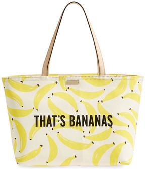 Kate Spade That's Bananas Francis Tote - YELLOW MULTI - STYLE