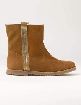 Boden Suede Sherpa Boots