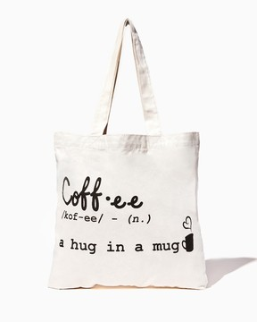 Coffee Canvas Tote