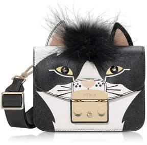 Furla Metropolis Jungle Cat Mini Crossbody Bag