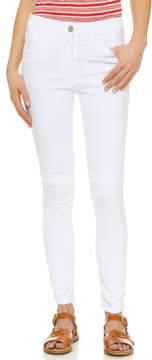 3x1 W3 High Rise Channel Seam Skinny Jeans