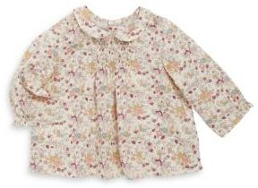 Bonpoint Baby's & Toddler's Wild Garden Printed Cotton Blouse