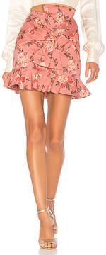 Lovers + Friends Barnes Mini Skirt