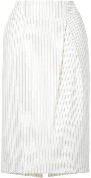 ESTNATION high-waisted ruched skirt