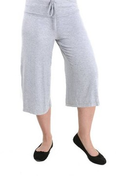 24/7 Comfort Apparel Women's Draw String Knee-Length Pant