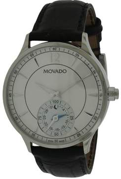 Movado Circa Motion Leather Smartwatch Mens Watch 0660007